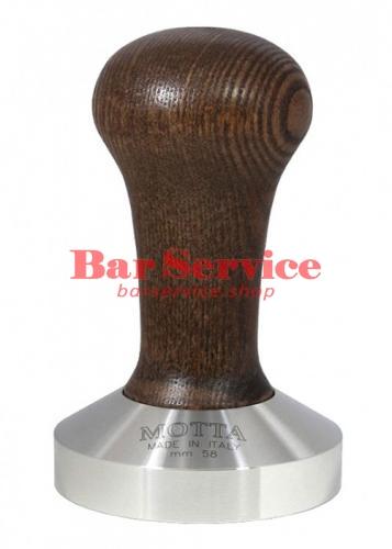 Темпер Мотта 58 мм. (выпуклый) с деревянной ручкой в Барнауле