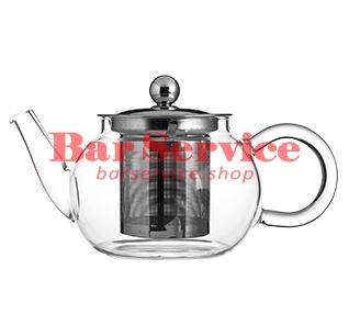Чайник «Проотель»;  термост.стекло;  0,6л;  D=78мм в Барнауле