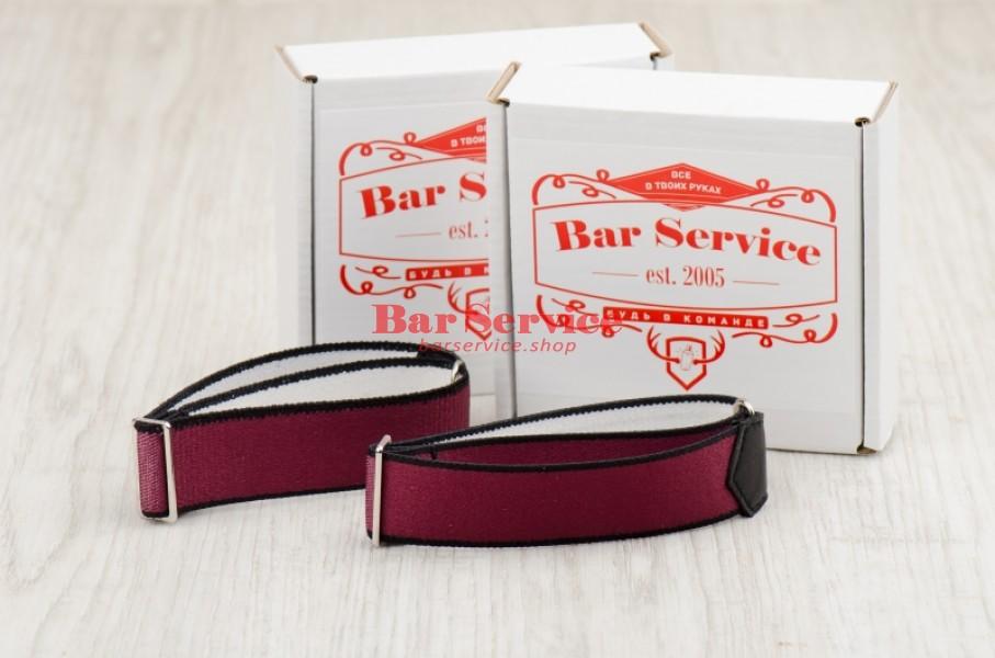 Армбенды, цвет бордо. Bar Service в Барнауле