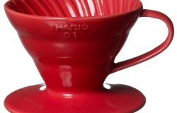 Hario VDC-02R. Воронка керамическая красная. 1-4 чашки в Барнауле front